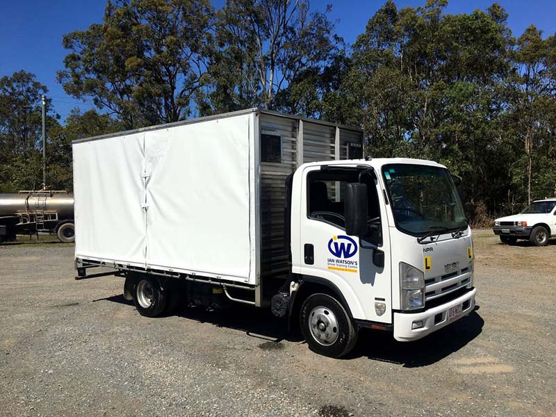 LR truck license & course in Adelaide